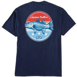 Reel Legends Mens Liberty Snook Graphic T-Shirt