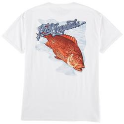 Mens Monster Catch Graphic T-Shirt