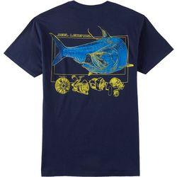 Reel Legends Mens Flat Water Titan Short Sleeve T-Shirt