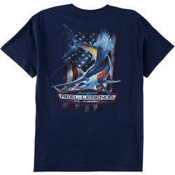 Reel Legends Mens Sailfish Classic T-Shirt