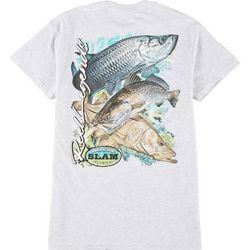 Reel Legends Mens Inshore Slam Short Sleeve T-Shirt