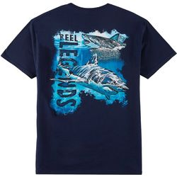Reel Legends Mens Great White Shallow T-Shirt