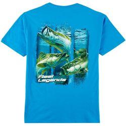 Reel Legends Mens 3-Strike Slam T-Shirt