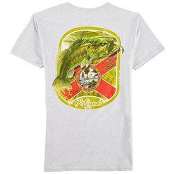 Reel Legends Mens Florida State Flag Bass T-Shirt