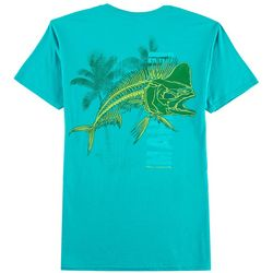 Reel Legends Mens Bad To The Bone Mahi T-Shirt
