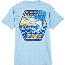 Reel Legends Mens Billfish Mania T-Shirt