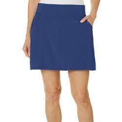 Reel Legends Petite Adventure Solid Skirt