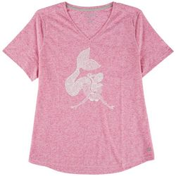 Reel Legends Petite Mermaid Heathered T-Shirt