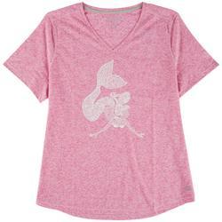 Petite Mermaid Heathered T-Shirt