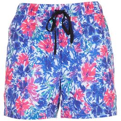 Reel Legends Petite Abalone Floral Pull On Short