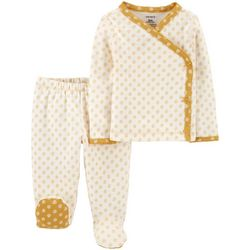 Carters Baby Girls 3-pc. Floral Take-Me-Home Set