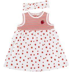 Baby Girls Strawberry Sleeveless Dress
