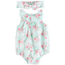Baby Girls Garden Blossom Romper