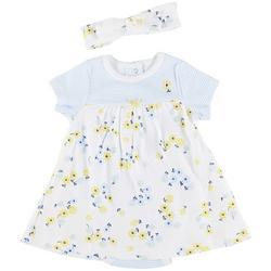 Baby Girls Daisy Bodysuit Dress