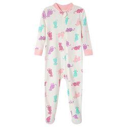 Little Me Baby Girls Kitty Pajamas