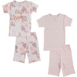 Cutie Pie Baby Toddler Girls 4-pc. Little Dreamer Pajama Set