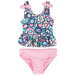 Floatimini Toddler Girls 2-pc. Floral Tankini Swimsuit
