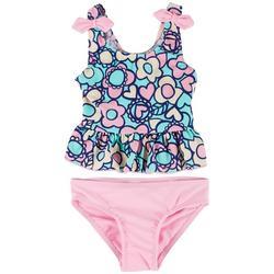 Toddler Girls 2-pc. Floral Tankini Swimsuit