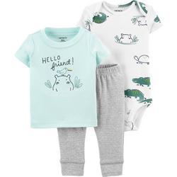 Baby Boys 3-pc. Hello Friend Pant Set