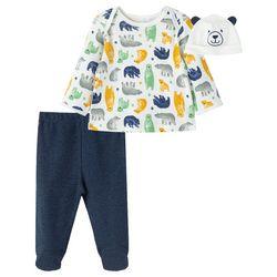 Little Me Baby Boys 3-pc. Beary Cute Pajama Set