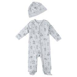 Focus Baby Boys 2-pc. Bear Long Sleeve Sleeper Set