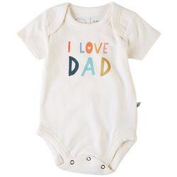 Finn & Emma Baby Boys I Love Dad Bodysuit