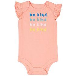 Dot & Zazz Baby Girls Be Kind Bodysuit