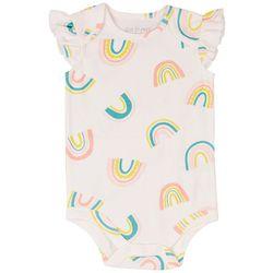 Dot & Zazz Baby Girls Rainbow Bodysuit