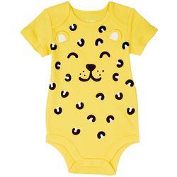 Dot & Zazz Baby Girls Cheetah Bodysuit