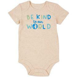 Dot & Zazz Baby Boys Be Kind To Our World Bodysuit