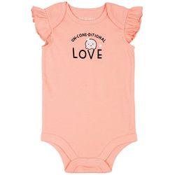 Dot & Zazz Baby Girls Un-Cone-Ditional Love Bodysuit