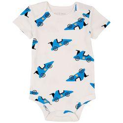Dot & Zazz Baby Boys Racecar Bodysuit