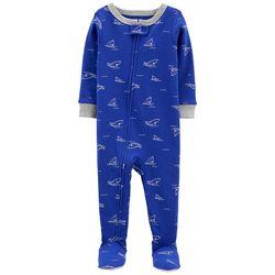 Carters Baby Boys Shark Footed Pajamas