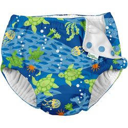 Green Sprouts Baby Boys Turtle Journey Snap Swim
