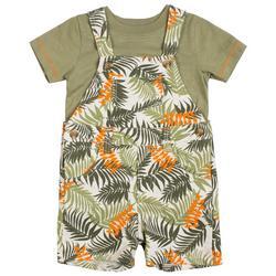 Baby Boys Palm Leaf Shortall