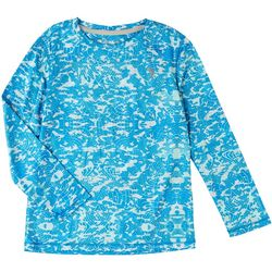 Reel Legends Toddler Boys Reel-Tec Globe Camo T-Shirt