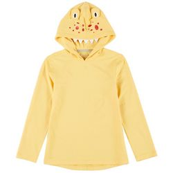 Reel Legends Toddler Boys Keep It Cool Monster Hooded Shirt
