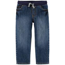 Carters Toddler Boys Everyday Elastic Waist Denim Pants