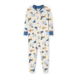 Little Me Baby Boys Dog Sweater Pajamas