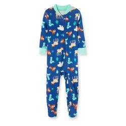 Little Me Baby Boys Woodland Pajamas