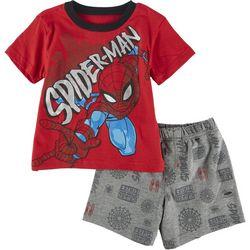 Spider-Man Toddler Boys 2-pc. Spider-Man Short Set