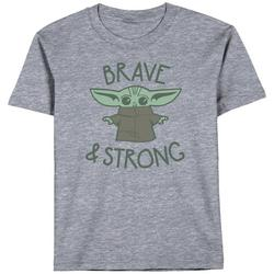 Toddler Boys The Child Brave & Strong T-Shirt