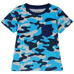 Dot & Zazz Toddler Boys Camo Chest Pocket T-Shirt