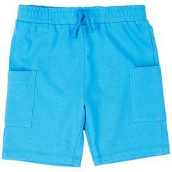 Dot & Zazz Toddler Boys Solid Cargo Shorts