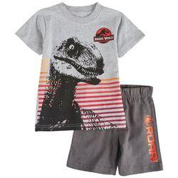 Jurassic World Toddler Boys 2-pc. Roar Short Set
