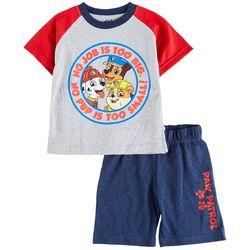 Paw Patrol Toddler Boys 2-pc. No Job Is Too Big Short Set