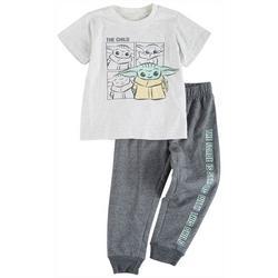 Toddler Boys 2-pc. The Child Pant Set