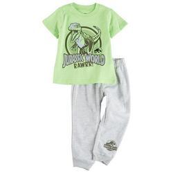 Toddler Boys 2-pc. Rawrr Pant Set