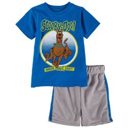 Scooby-Doo Toddler Boys 2-pc. Character Short Set