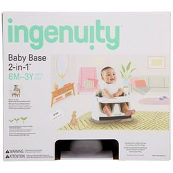 Ingenuity 2-in-1 Baby Base Booster Seat